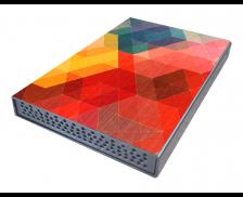 """Boîtier de disque dur Mosaique - TRAX - 2.5"""" - USB3"""