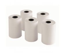 Lot de 5 bobines thermiques - TOP OFFICE - 57x40x12 mm