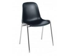 Chaise de réunion - Coque noire