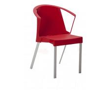 Chaise de réunion - OUTDOOR - Rouge
