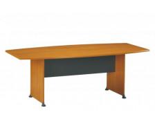 Table de réunion tonneau JAZZ, largeur : 204 cm