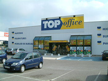 Top office montpellier pérols papeterie et mobilier de bureau