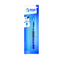 Stylo roller - TOP OFFICE - Bleu