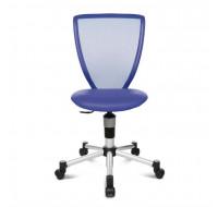 Chaise de bureau TITAN Junior - Bleu