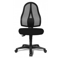 Chaise de bureau Open point - Noir