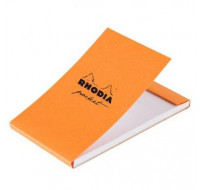 Bloc-notes pocket 8x12 cm - RHODIA - Petits carreaux