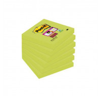 Bloc post-it Super sticky - POST IT - 76 x 76 mm - Vert Olive