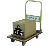 Chariot pliable Cargo - SAFETOOL - Charge 250 kilos