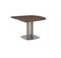 Table 1/2 ovale - XENON - L102 cm - Finition chêne/blanc