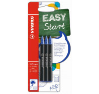 Lot de 3 recharges easy Original - 0.5mm - STABILO - Bleu