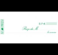 Carnet de reçus dupli - 23170E - EXACOMPTA - 10,5 x 18 cm