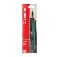 Lot de 3 crayons graphite Othello 2H - STABILO