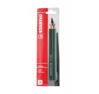 Lot de 3 crayons graphite Othello 2B - STABILO