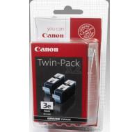 Pack 2 cartouches d'encre CANON Twinpack BCI3E - Noir