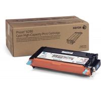 Toner laser 106R1392 - Xerox - Cyan - Grande Capacite