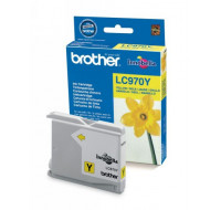 Cartouche d'encre BROTHER LC970Y - Jaune