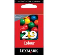 Cartouche d'encre LEXMARK 29 (18C1429E) - 3 couleurs