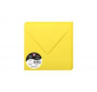 20 enveloppes - POLLEN - Jaune soleil - 120g