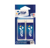 Lot de 2 gommes - TOP OFFICE