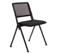 Chaise de réunion mesh - Revolution - Noir