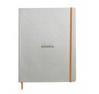 Carnet de notes Rhodiarama - RHODIA - 160 pages - Format A4+ - Silver