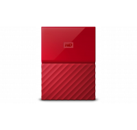 """Disque dur portable My Passport - WESTERN DIGITAL - 1 To - 2,5"""" - Rouge"""