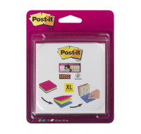 Lot de 3 blocs post-it - POST-IT - 70 feuilles - 101x101 mm - 3 couleurs