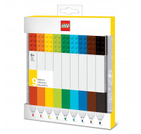 Lot de 9 feutres - LEGO - Assortiment de couleurs
