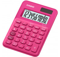Calculatrice format mini de bureau MS7UC - CASIO - Rose