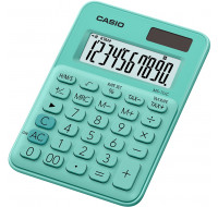 Calculatrice format mini de bureau MS7UC - CASIO - Verte
