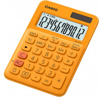Calculatrice format mini de bureau MS20UC - CASIO - Orange