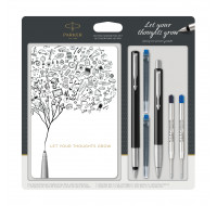 Kit d'écriture Vector - PARKER - Assortiment de couleurs