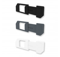 Pack de 3 caches webcam Spy Guard - TARGUS - Coloris assortis