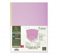 paquet de 25 chemises  Forever - EXACOMPTA - 24 x 32 cm - Lilas - 770008E