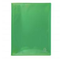 Lot de 12 protège-documents en polypropylène semi-rigide Iderama pp 100 vues - A4 - EXACOMPTA - Couleurs assorties - 85570E