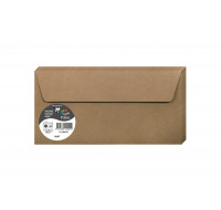 Lot de 20 enveloppes 110 x 220 - POLLEN - 130g - Kraft
