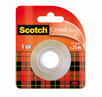 Rouleau de recharge Scotch Crystal - SCOTCH - Transparent - 19 mm x 25 m