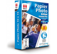 Papier photo brillant 10 x 15 cm - 130 feuilles - MICRO APPLICATION - 255g