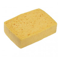 SPONTEX Lot de 10 Eponges tradition n°8 Azella jaune - Dim.: 15,9 x 4 x 12 cm - ADVEO - 702255