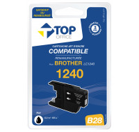 Cartouche d'encre compatible BROTHER : LC1240 - TOP OFFICE - Noir