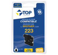 Cartouche d'encre compatible BROTHER : LC223 - TOP OFFICE - Noir
