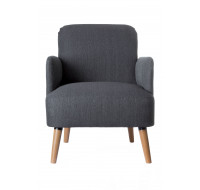 Fauteuil Brooks - PAPERFLOW - Anthracite