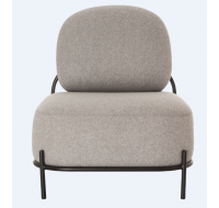 Fauteuil Admy - PAPERFLOW - Gris