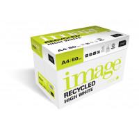 Caisse de 5 ramettes de 500 feuilles - IMAGE RECYCLED - A4 - 80g - Blanc