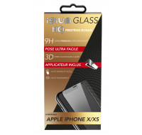 Coque universelle Luxe pour smartphone - ISIUM - Taille L - Noir