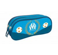 Trousse rectangulaire OM - 2 compartiments - QUO VADIS - Bleu