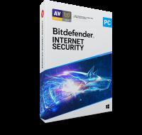 Logiciel antivirus Internet Security - BITDEFENDER - 1 an/1 PC