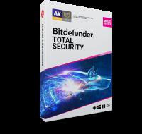 Logiciel antivirus Total Security 2020 - BITDEFENDER - 2 ans / 10 PC