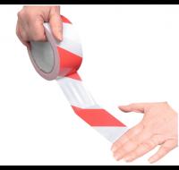 Rouleau de ruban adhésif - VISO  - Rouge et Blanc