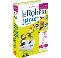 Dictionnaire Junior illustré - LE ROBERT - De 7 à 11 ans